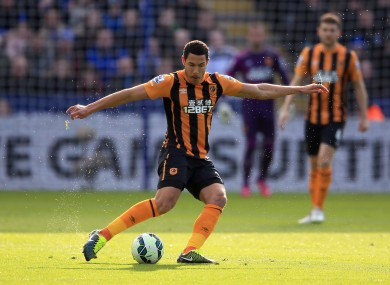 Livermore joined Hull for €11m in the summer of 2014.
