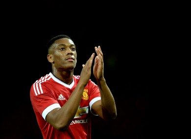 Martial has already impressed at Old Trafford.