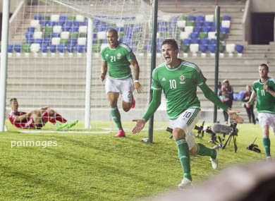 Northern Ireland are on the brink of qualification for the Euros.