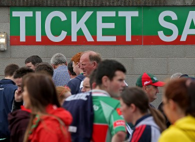 Those hoping for tickets around Croke Park on Saturday will have to be wary of duplicates.