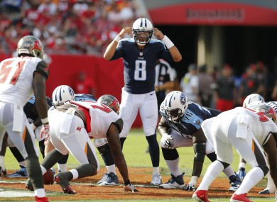 It's all in the head -- and the arm -- for Marcus Mariota.