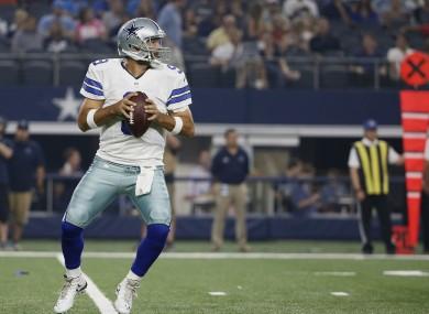 Dallas Cowboy's QB Tony Romo.