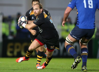 Goode in action for Wasps against Leinster in last season's Champions Cup.