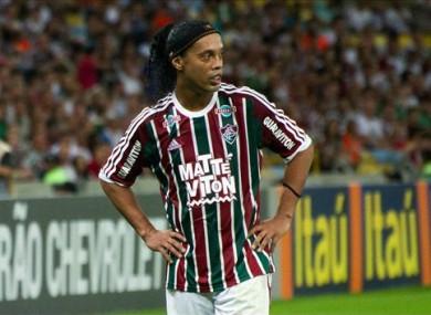 Ronaldinho last played for Fluminense.