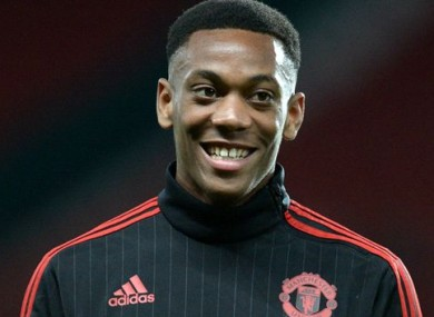 Martial has made an impressive start to life at Man United.