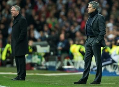Mourinho was linked with the job as Alex Ferguson's successor.