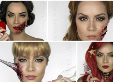 A make-up artist has created amazing \'dead Disney princess ...