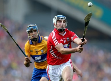 Cian McCarthy in action.