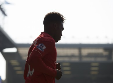 Sturridge has been plagued by injury over the last 18 months.