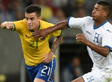 Coutinho has been snubbed in the latest Brazil squad.