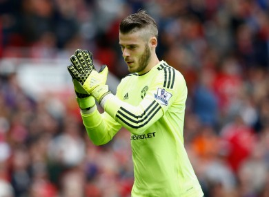 De Gea was speaking while on duty with the Spanish national team.