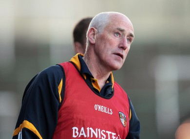 Newly-appointed Limerick senior hurling team coach Dinny Cahill.