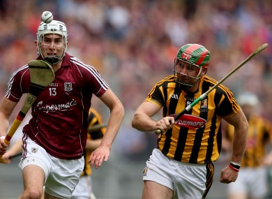 Jason Flynn of Galway is in the running to be the 2015 Young Hurler of the Year.
