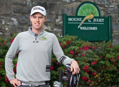 Kevin Phelan is one of Ireland's brightest golfing talents.
