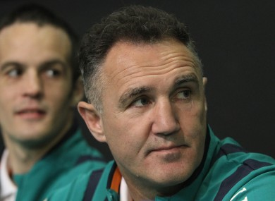 Billy Walsh has confirmed his resignation from the Irish coaching set-up.