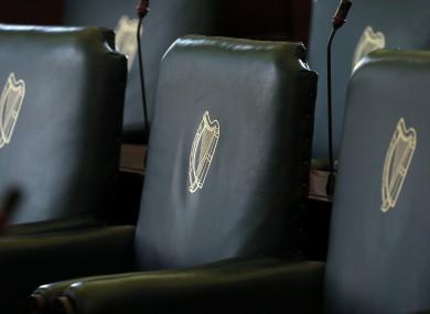 The Seanad chamber