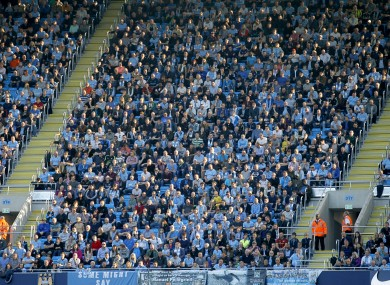 Manchester City fans are in hot water with Uefa.