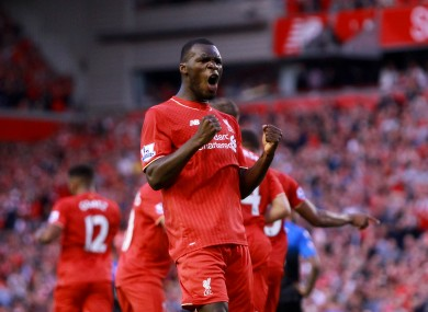 Christian Benteke has two goals in six starts for Liverpool.