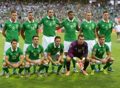 Ireland finished third in their qualification group.