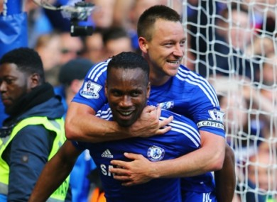 Drogba admits he hadn't heard of John Terry before signing for Chelsea.
