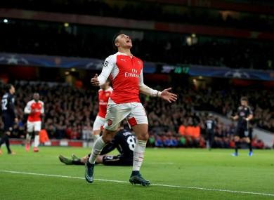 Sanchez bagged himself a brace.