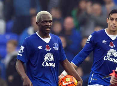 Kone inspired Everton to a big win earlier.