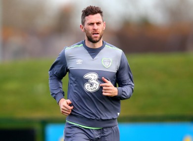 Murphy arrived in Ireland camp on the back of a hat-trick for Ipswich last weekend.