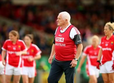 Cork ladies football boss Eamonn Ryan has masterminded ten All-Ireland titles.