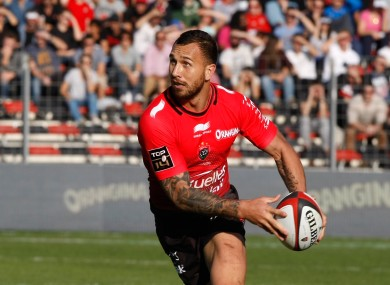 Cooper moved from the Queensland Reds.
