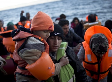 Migrants are fleeing war and persecution to start a new life in Europe