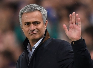 Mourinho has hinted that he is being treated differently to other managers.