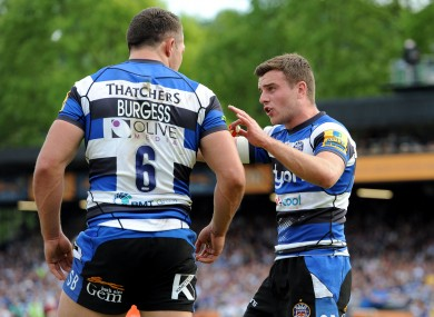 George Ford will have to play Toulon at some point.