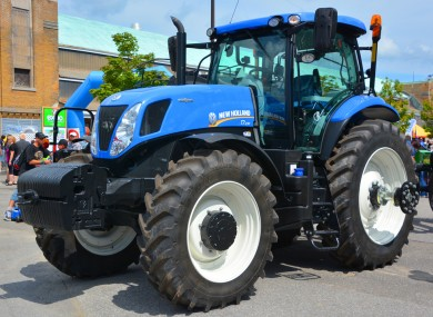 File photo: New Holland tractor