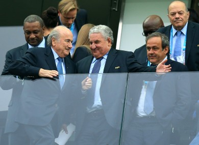 Blatter and Platini will have to go to the CAS.