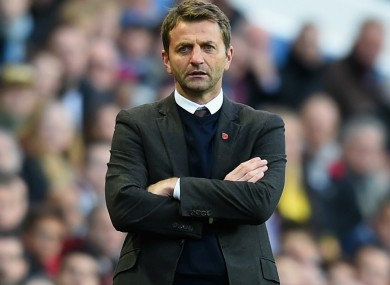 Tim Sherwood has lamented his time at Villa.
