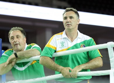 Zaur Antia and Billy Walsh formed a successful coaching team that took Irish boxing to unprecedented height.