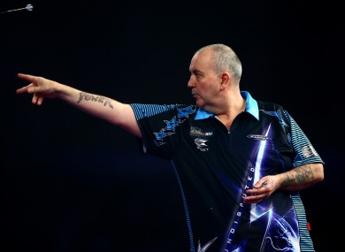 Phil Taylor is a legend of darts.