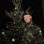 Commandant Colin Lawlor:  'Happy Christmas to everyone at home especially to my wife Ann-Marie and my daughters Annabelle, Jessica & Aoife.'