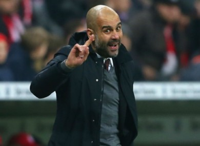 Pep Guardiola will leave Munich at the end of the season.
