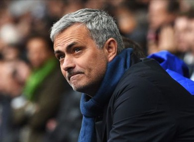 Mourinho was sacked by Chelsea recently.