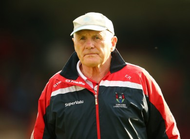 Ryan presided over 10 All-Ireland victories with Cork ladies.