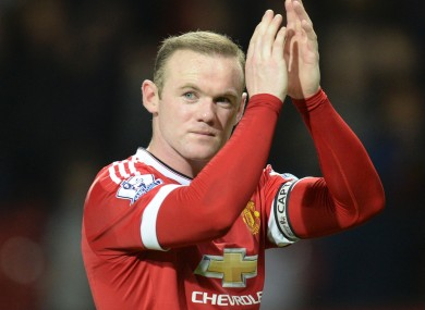 Wayne Rooney has two Premier League goals this season.