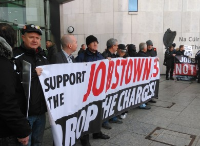 Paul Murphy and Jobstown protesters