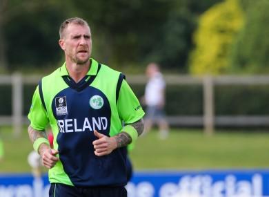 Ireland's John Mooney has announced his retirement.