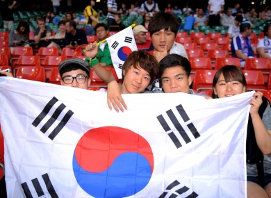 We were edged out by South Korea