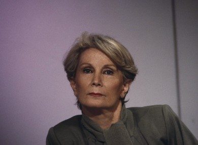 Fernande Grudet, best known under the alias 'Madame Claude', pictured in 1986.
