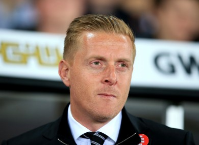 Monk was unable to replicate Swansea's form of last season.