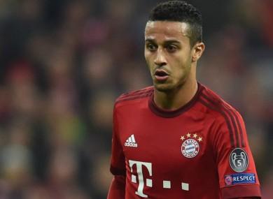 Thiago Alcantara has impressed since joining Bayern Munich.