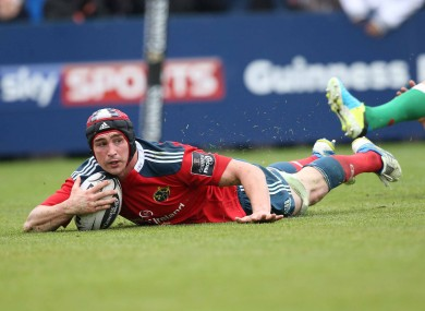 Tommy O'Donnell has committed his future to Munster.