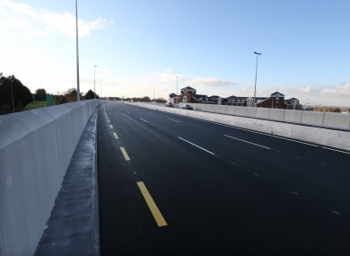 The Newlands Cross flyover